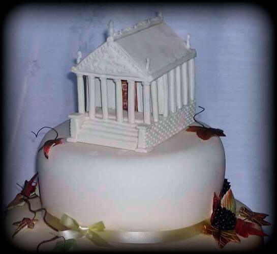 торт-храм