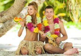 Свадьба в гавайском стиле - яркая, незабываемая, озорная