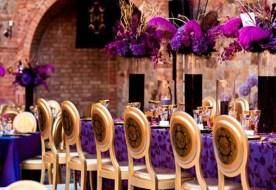 Свадьба в фиолетовом стиле: взрыв волшебных красок свежести