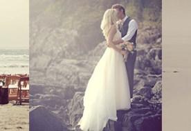 Летняя романтичная свадьба у моря в нежных тонах