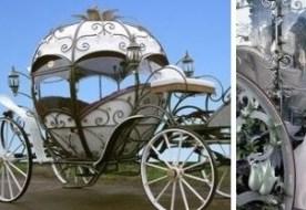 Свадьба в стиле золушки - осуществление сказочной мечты