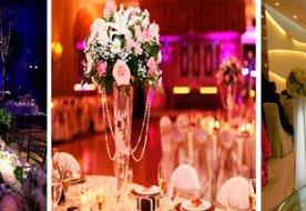 Украшение свадебного зала: что предпочесть для декора торжества?