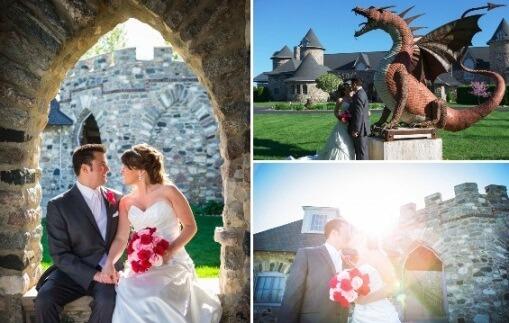 свадьба у замка