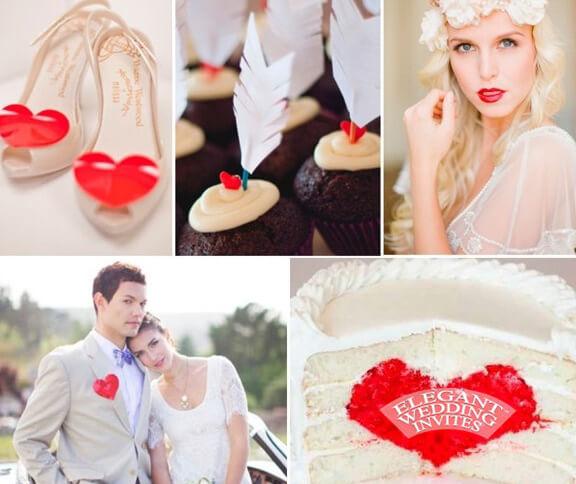 Невеста и жених в стиле love is
