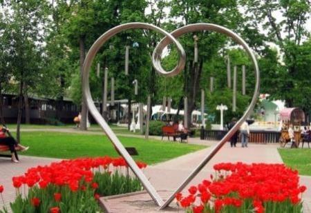 сад эрмитаж, сердце любви