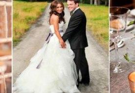 Свадьба в деревенском стиле: гуляет шумно все село!