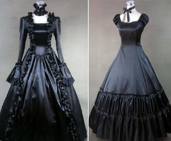 черные свадебные платья в древние века