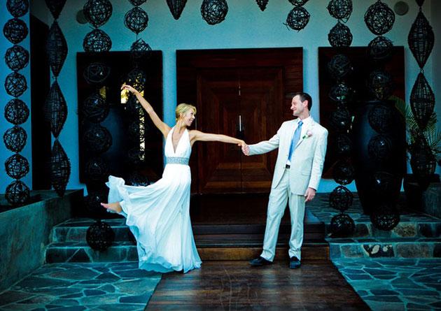 Свадебная палитра синяя