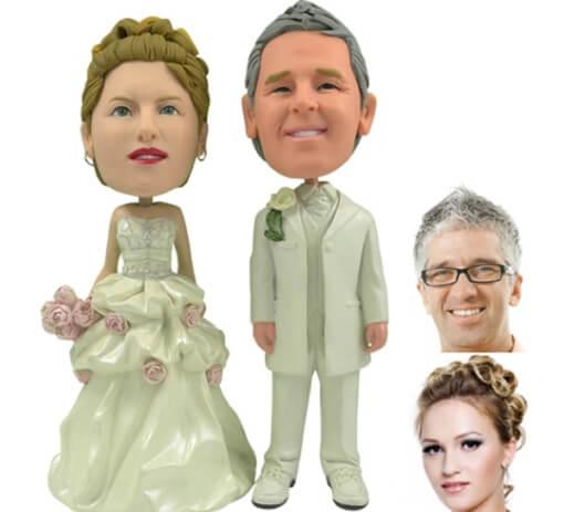 реалистичные фигурки на свадебный торт