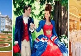 Свадьба в королевском стиле: как оформить праздник по царски?