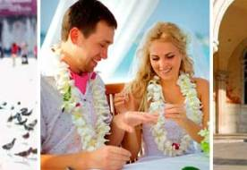 Свадьба за границей – новый подход к организации бракосочетания