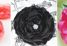 Свадебные броши из ткани своими руками: пошаговые инструкции для невесты (Часть 1)