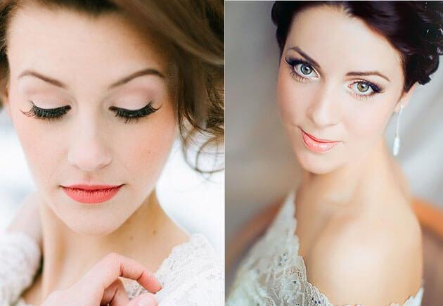 свадебный макияж бюрюнетки