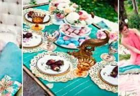 Девичник в стиле гламурных и стильных 50-х: пикник на природе в сладких тонах