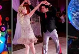 Зажигательная свадьба в стиле диско – да будут танцы до утра!