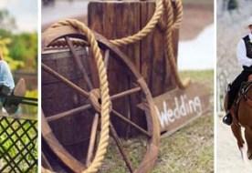 Свадьба в стиле вестерн: декор и образ невесты по канонам Дикого Запада!