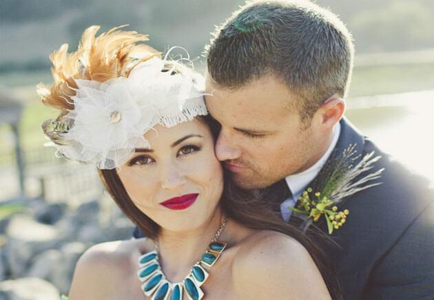 образы молодожен на свадьбе в поле