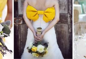 Свадебная палитра: желтый и его солнечные оттенки
