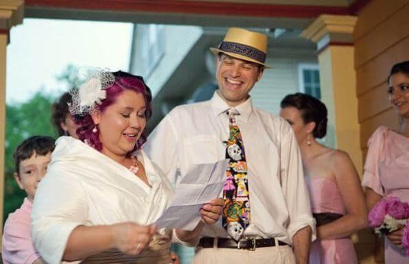 веселая свадебная клятва в стихах