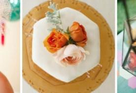 Оригинальная медовая свадьба: медовые соты в основе декора