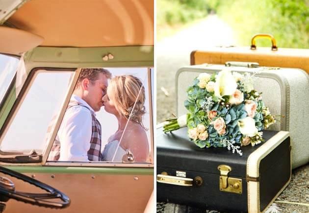 свадебный стиль путешествие