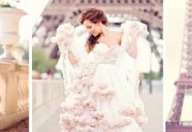 Свадьба в Париже: атмосфера романтики вместо декора