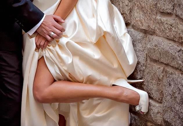 цвет платья невесты айвори