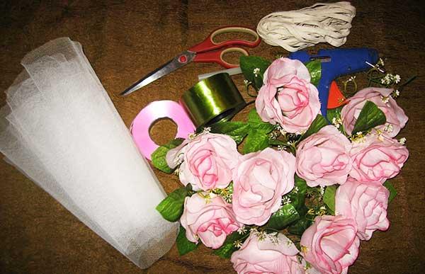 Что нужно приготовить для украшения свадебной машины