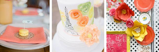Цвет свадьбы оранжевый и его сочетания в палитре