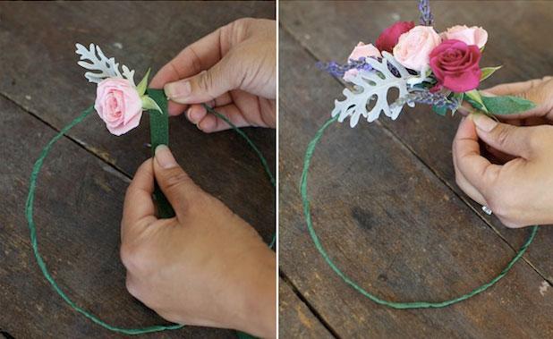Как сплести венок из цветов на голову своими руками?