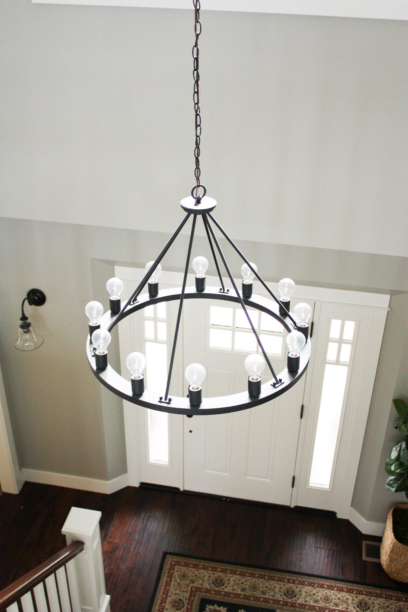 Dream House Update Farmhouse Chandeliers & Light Fixtures