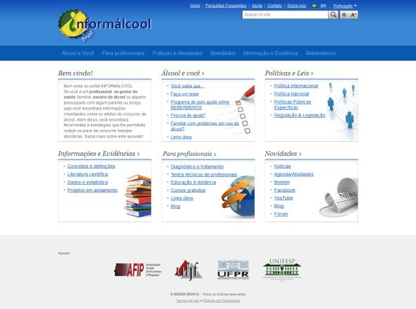 home do site Informálcool