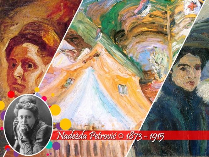 10 Mulheres do Impressionismo: Nadezda Petrovic