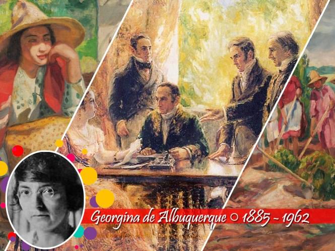 Mulheres do Impressionismo: Georgina de Albuquerque