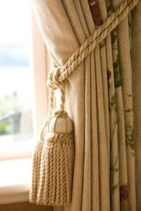 Curtain Detail - Interior Designer Edinburgh