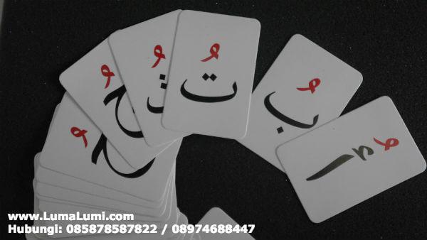 beli flashcard huruf hijaiyah