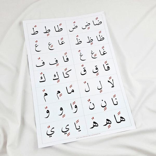 belajar huruf hijaiyah harokat tanwin
