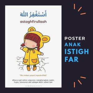 poster anak lumalumi istighfar
