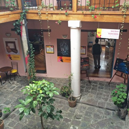Beautiful courtyards to discover in La Ronda.