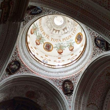 Spectacular church ceiling!