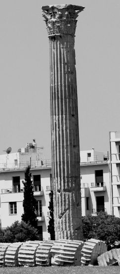 One Column @Temple of Olympian