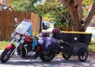 Moving Motor Bike