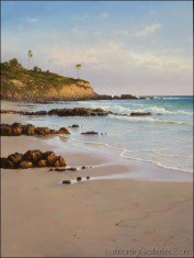 """Laguna Sands"" 40x30 in. oil/canvas"