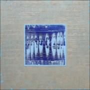 """Mystic Layers - Azul"" by Greg Martin"