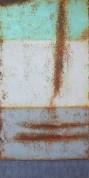 """(sold) """"Non Prima Facie"""" 60x30 in. acrylic on canvas"""