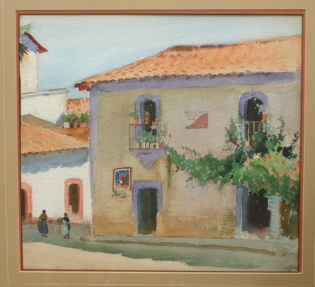 Rare watercolors by Arthur G. Rider (1886-1975)