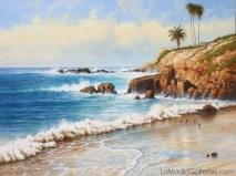 """""""Laguna Cove"""" 36x48 in. oil/canvas"""