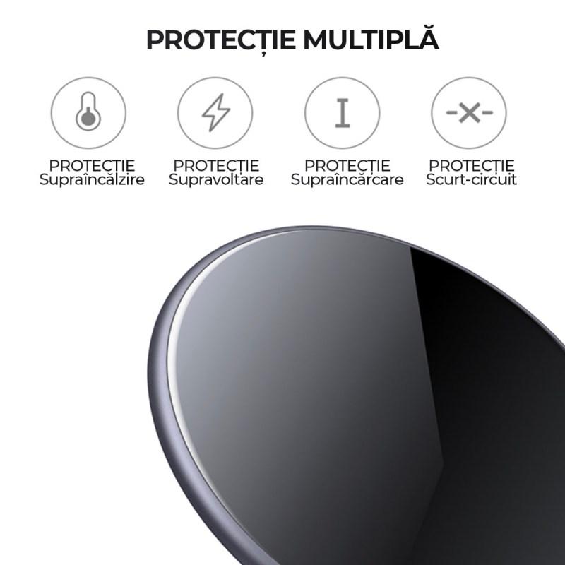 Incarcator wireless ArmorPlate incarcare rapida