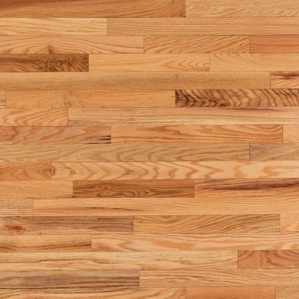 3 4 in x 2 25 in natural red oak solid hardwood flooring