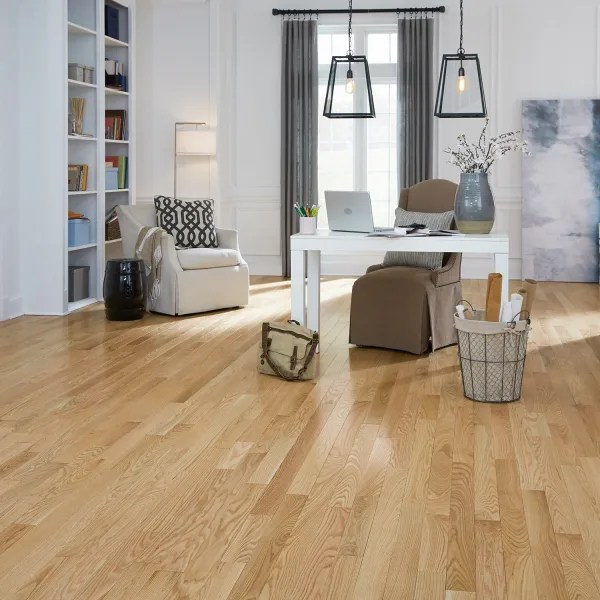 3 4 in x 3 25 in select red oak solid hardwood flooring